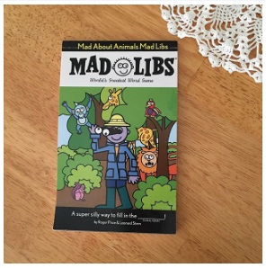 """""""Christmas Fun Mad Libs"""" by Roger Price Morning Time Secret Weapons"""