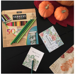 Colorful Blessings: Cards to Color and Share Your Morning Basket